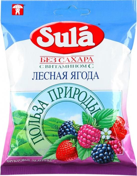 Леденцы SULA Лесная ягода 60 гр.