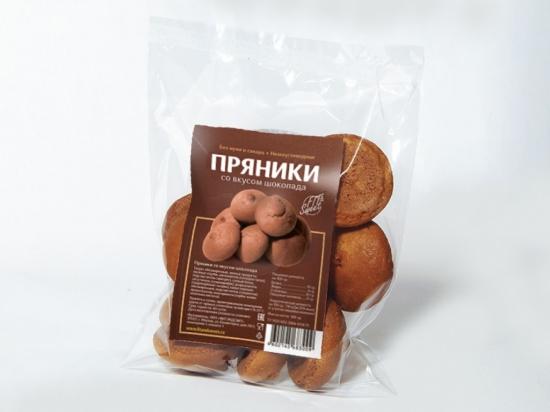 Пряники со вкусом шоколада