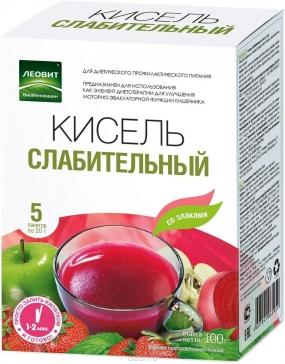 """Кисель """"Слабительный"""" №5 пакетиков"""
