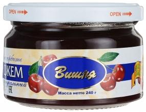 Здоровые сладости Петродиет джем вишневый на сорбите, 240 г