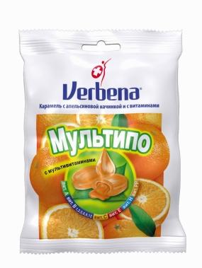 Леденцы VERBENA Мультипо 60 гр.