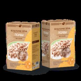 Воздушные зерна полбы. Без сахара 170 гр (