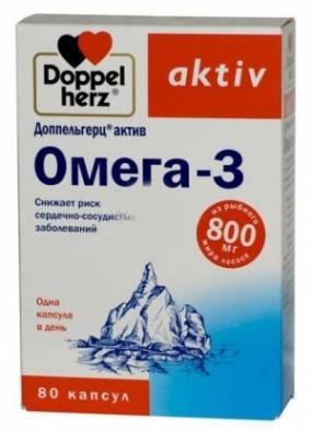 Доппельгерц актив Омега –3 №80 капс