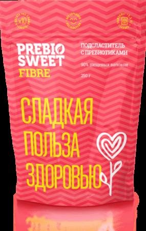 Сахарозаменитель Пребиосвит Фитнес (Prebiosweet Fibre) 250 гр.