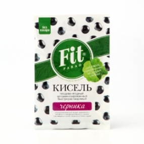 Кисель витаминизированный быстрорастворимый ФитПарад «Черника»