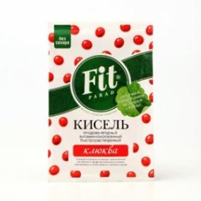 Кисель витаминизированный быстрорастворимый ФитПарад «Клюква»