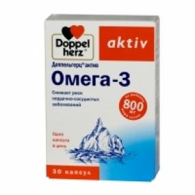 Доппельгерц Омега-3 №30 капс.