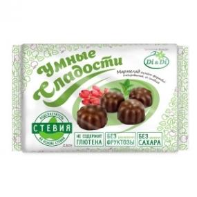 Мармелад желейный в глазури со стевией «Умные сладости» 220 г
