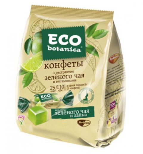 Конфеты Eco Botanica, с экстрактом зеленого чая и витаминами, 200 г