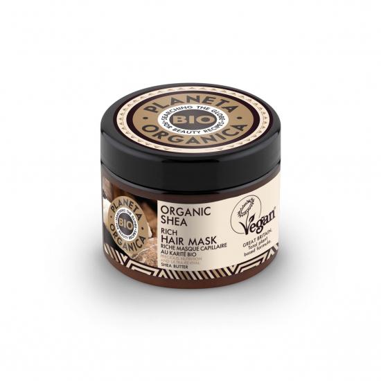 PLANETA ORGANICA Маска для волос Organic Shea, 300 мл