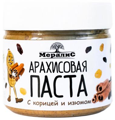 """Арахисовая паста """"С корицей и изюмом"""", 300 г"""