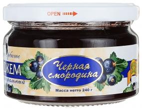 Здоровые сладости Петродиет джем черная смородина на сорбите, 240 г