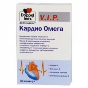Доппельгерц V.I.P. Кардио Омега №84 капс