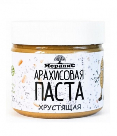 """Арахисовая паста """"Хрустящая"""", 300 г"""