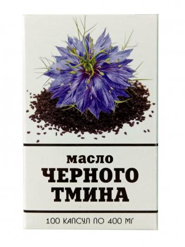 Масло черного тмина №100 по 400 мг