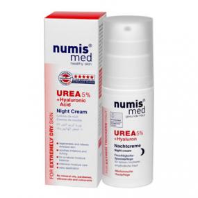 Numis Med Ночной Крем с 5 % мочевиной и гиалуроновой кислотой, 50 мл