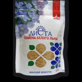 Семена белого льна 200 гр.