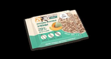 Протеино-злаковые хлебцы «ProteinRex» CRISPY «Тайская дыня», 55 г