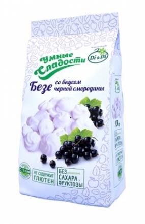 Безе «Умные сладости» со вкусом черной смородины 70г