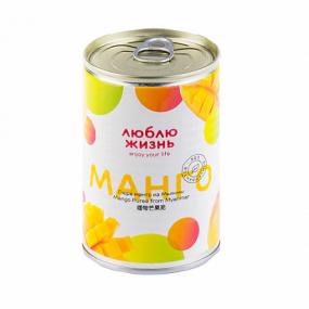 Пюре манго Люблю жизнь 430 гр