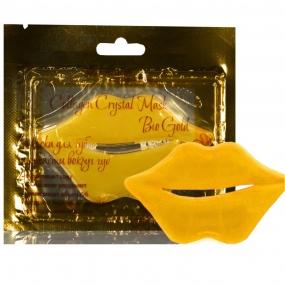Коллагенова маска для губ и области вокруг губ с БИО ЗОЛОТОМ