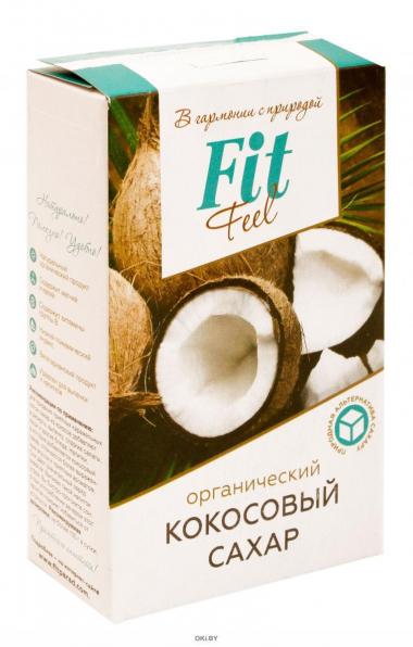 Кокосовый органический сахар FitFeel, 200гр.