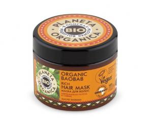 PLANETA ORGANICA Маска для волос Organic Baobab, 300 мл