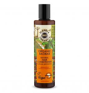 PLANETA ORGANICA Шампунь для волос Organic Baobab, 280 мл