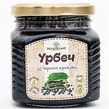 Урбеч из семян черного кунжута, 230 г