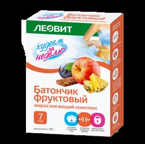 """Батончик фруктовый """"Жиросжигающий комплекс"""" №7"""