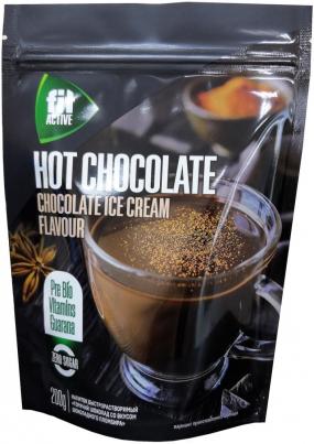 Горячий шоколад  со вкусом шоколадного пломбира, Фитактив, 200 г