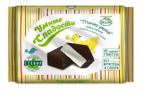 Конфеты «Птичка Умная» суфле нежное, со вкусом лимона, 215 гр.