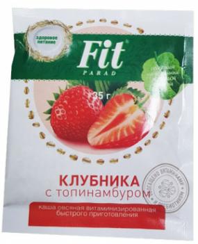 "Каша овсяная ""Клубника"" 35 гр"