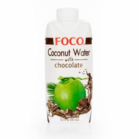 Кокосовая вода с шоколадом FOCO 330мл