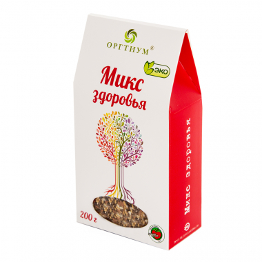 Микс здоровья (семена чиа и ягоды годжи, лен темный и светлый, кунжут темный и светлый), 200г