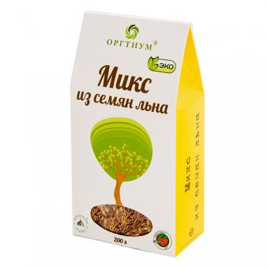 Микс из семян (лён, кунжут, тыква, подсолнух), 200 г