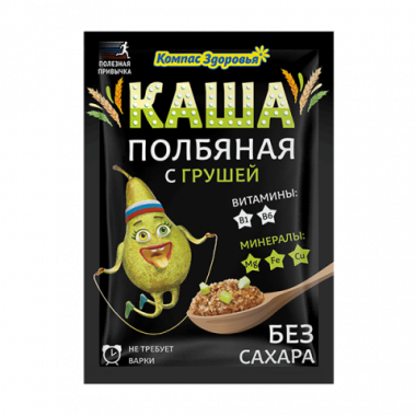 Каша полбяная с грушей, 30 г