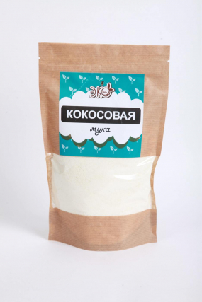 Мука Кокосовая ЭкоЖизнь крафт 350 гр