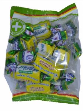 Конфеты Воздушное суфле со стевией с сорбитом Сливки-Ваниль 200 гр.