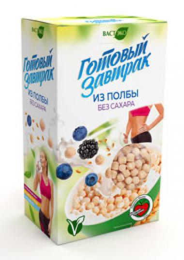 Готовый завтрак из полбы без сахара 150 гр