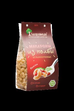 "Макароны из полбы ""Рожки"" Здороведа, 350 г"