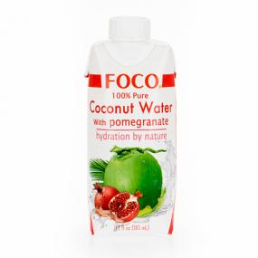 Кокосовая вода с соком личи FOCO 330мл