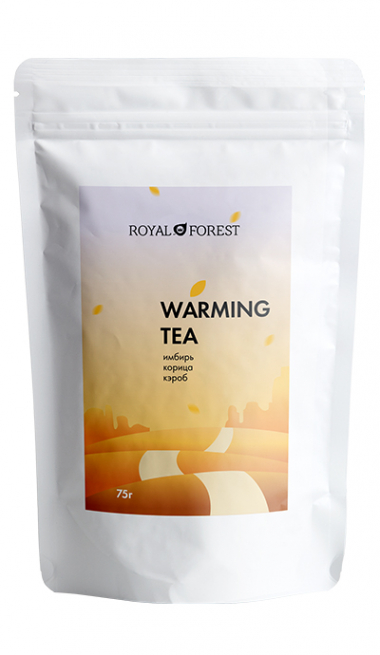 Черный чай Royal Forest с имбирем и корицей 75 гр