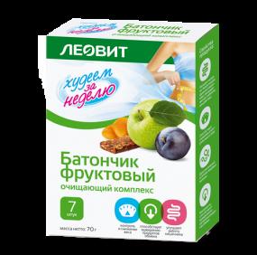 """Батончик фруктовый """"Очищающий комплекс"""" №7"""