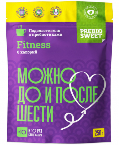 Сахарозаменитель Пребиосвит Фитнес (Prebiosweet Fitness), 150 г