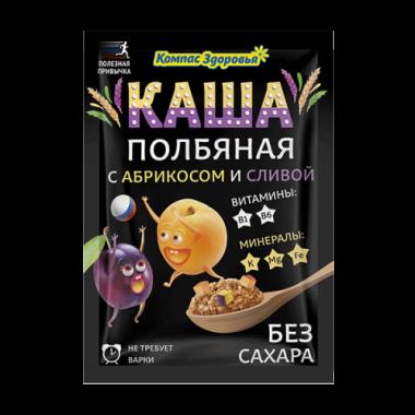 Каша полбяная с абрикосом и сливой, 30 г