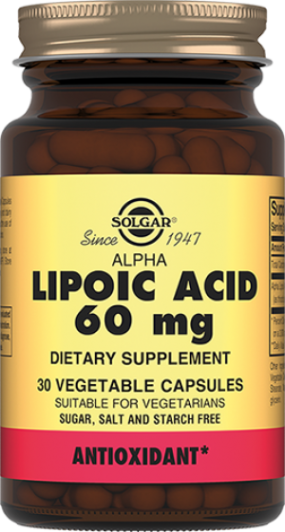 Альфа-липоевая кислота 60 мг капс. №30