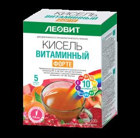 """Кисель """"Витаминный Форте"""", 100 г"""