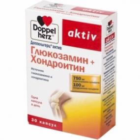 Доппельгерц актив Глюкозамин + Хондроитин капс. №30