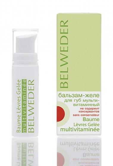 Бальзам-желе для губ мультивитаминный Бельведер